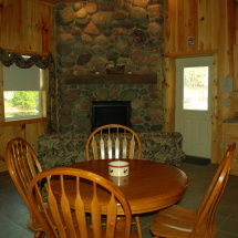 Mainland Cabin Main floor